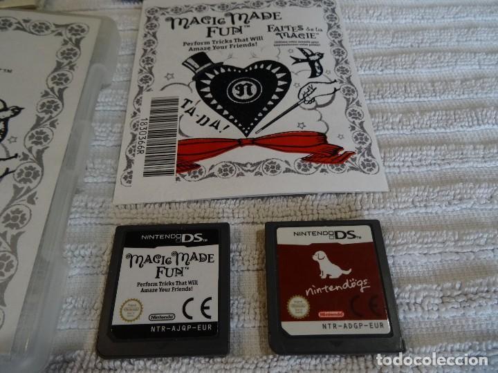 Videojuegos y Consolas: Juego para NINTENDO DS - Mágia en Acción + Nintendogs - Foto 2 - 117306115