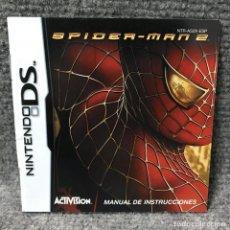 Videojuegos y Consolas: SPIDERMAN 2 INSTRUCCIONES ESPAÑOL NINTENDO DS. Lote 117497392