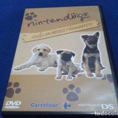 Videojuegos y Consolas: DVD JUEGO NINTENDO DS ( NINTENDOGS GUIA DE ADIESTRAMIENTO ) 2005 PATROCINA CARREFOUR NUEVO. Lote 118217611