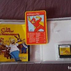 Videojuegos y Consolas: LOS SIMPSON NINTENDO DS.COMPLETO. Lote 119072775