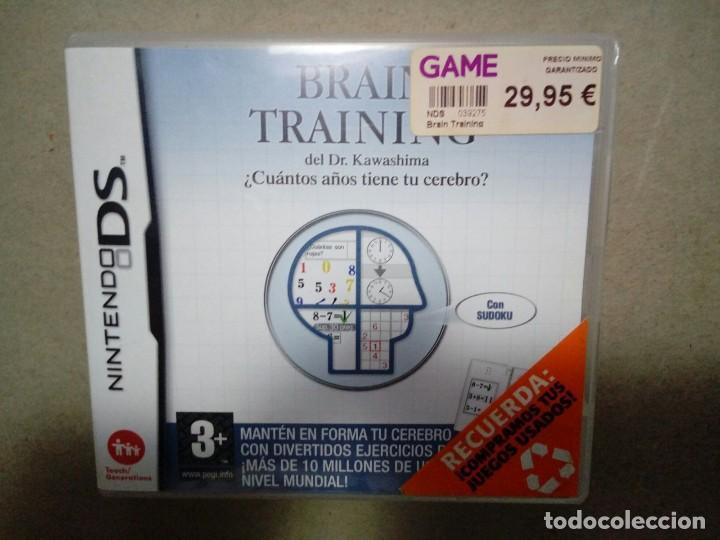 BRAIN TRAINING. NINTENDO DS. COMPLETO. (Juguetes - Videojuegos y Consolas - Nintendo - DS)