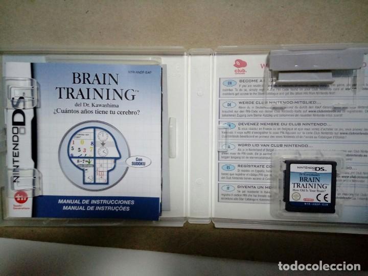 Videojuegos y Consolas: BRAIN TRAINING. NINTENDO DS. COMPLETO. - Foto 2 - 119387511
