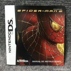 Videojuegos y Consolas: SPIDERMAN 2 INSTRUCCIONES ESP NINTENDO DS. Lote 119405059
