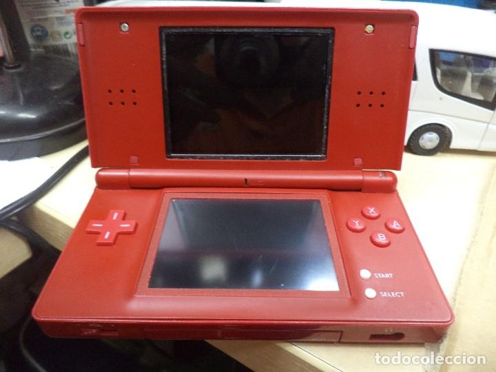 Videojuegos y Consolas: Nintendo DS Lite.Serie rojo Mario Brothers 2006 - Foto 2 - 120142191
