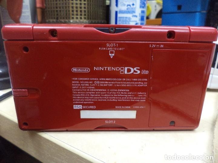 Videojuegos y Consolas: Nintendo DS Lite.Serie rojo Mario Brothers 2006 - Foto 3 - 120142191