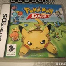 Videojuegos y Consolas: POKEMON DASH NINTENDO DS PAL ESPAÑA COMPLETO. Lote 120338399