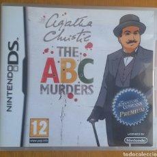 Videojuegos y Consolas: AGATHA CHRISTIE THE ABC MURDERS- NINTENDO DS. Lote 121962811