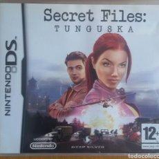 Videojuegos y Consolas: SECRET FILES: TUNGUSKA - NINTENDO DS. Lote 121964974