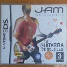 Videojuegos y Consolas: JAM SESSIONS TU GUITARRA DE BOLSILLO - NINTENDO DS. Lote 121965364