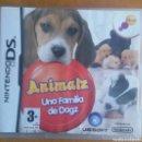 Videojuegos y Consolas: ANIMALZ UNA FAMILIA DE DOGZ - NINTENDO DS. Lote 160288252
