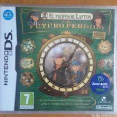 Videojuegos y Consolas: EL PROFESOR LAYTON Y EL FUTURO PERDIDO - NINTENDO DS. Lote 121967806