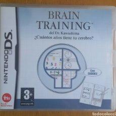 Videojuegos y Consolas: BRAIN TRAINING DEL DR KAWASHIMA - NINTENDO DS. Lote 121969030