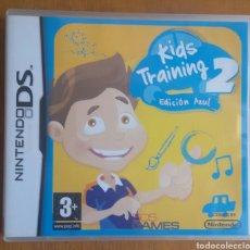 Videojuegos y Consolas: KIDS TRAINING 2 EDICIÓN AZUL - NINTENDO DS. Lote 121970510
