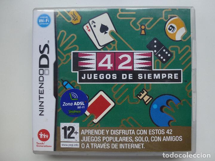 Juego Nintendo Ds Original 42 Juegos De Siempr Comprar