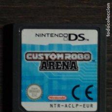 Videojuegos y Consolas: DS JUEGO - CUSTOM ROBO ARENA - SÓLO CARTUCHO. Lote 123351891