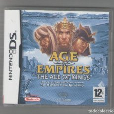 Videojuegos y Consolas: NUMULITE FIG0008 AGE OF EMPIRES THE AGE OF KINGS NINTENDO DS. Lote 123557267
