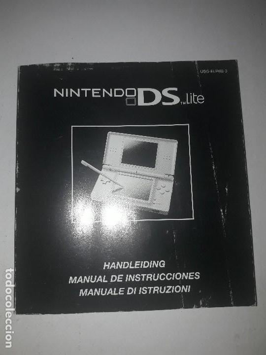 manual de instrucciones nintendo ds lite comprar videojuegos y rh todocoleccion net Nintendo DSi XL manual nintendo ds lite