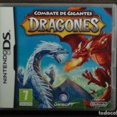 Videojuegos y Consolas: NINTENDO DS - COMBATES DE GIGANTES - DRAGONES. Lote 126088491