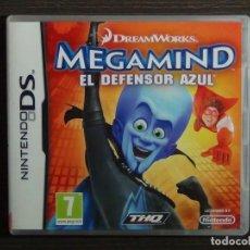 Videojuegos y Consolas: NINTENDO DS - JUEGO NINTENDO DS MEGAMIND - EL DEFENSOR AZUL . Lote 126088899