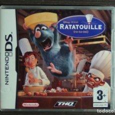 Videojuegos y Consolas: JUEGO NINTENDO DS RATATOUILLE . Lote 126210687