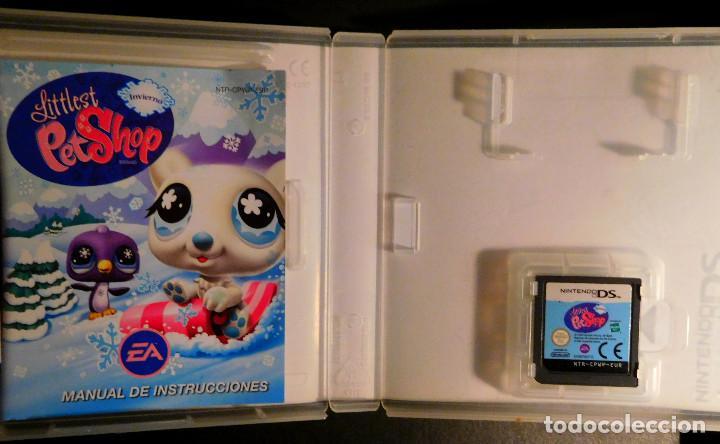 Videojuegos y Consolas: NINTENDO DS JUEGO LITTLEST PET SHOP INVIERNO - MUY BUEN ESTADO - Foto 2 - 127968475