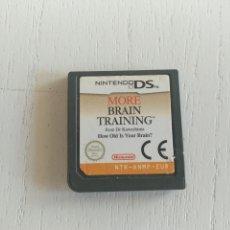 Videojuegos y Consolas: LOTE JUEGO MORE BRAIN TRAINING NINTENDO DS. Lote 128070615