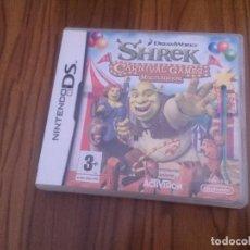 Videojuegos y Consolas: SHREK. NINTENDO DS. DREAMWORKS. SIN INSTRUCCIONES. BUEN ESTADO. . Lote 128457771