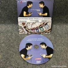 Videojuegos y Consolas: DVD PROMOCIONAL NINTENDO 2005 PASA A LA ACCION NINTENDO DS. Lote 128502367