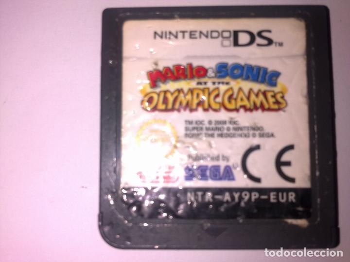 MARIO SONIC OLOIMPIC GAMES (Juguetes - Videojuegos y Consolas - Nintendo - DS)