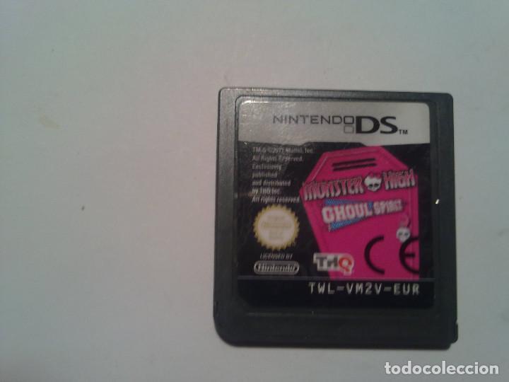 MONSTER HIGH ESCUELA MONSTRUOSA (Juguetes - Videojuegos y Consolas - Nintendo - DS)