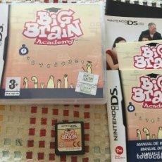 Videojuegos y Consolas: BIG BRAIN ACADEMY NDS NINTENDO DS KREATEN JUEGO. Lote 129243659