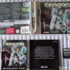 Videojuegos y Consolas: NINTENDO DS - ERAGON ESPAÑOL. Lote 130098823