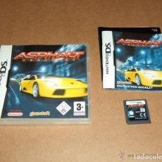 Videojuegos y Consolas: JUEGO NINTENDO DS ASPHALT URBAM GT. Lote 132440858