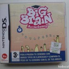 Videojuegos y Consolas: NINTENDO DS. BIG BRAIN ACADEMY. JUEGO MAS INSTRUCCIONES . Lote 132514946