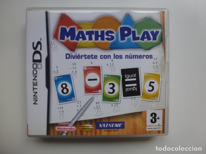 NINTENDO DS. MATHS PLAY. JUEGO MAS INSTRUCCIONES (Juguetes - Videojuegos y Consolas - Nintendo - DS)