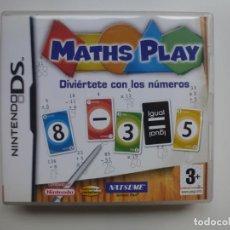 Videojuegos y Consolas: NINTENDO DS. MATHS PLAY. JUEGO MAS INSTRUCCIONES . Lote 132515350