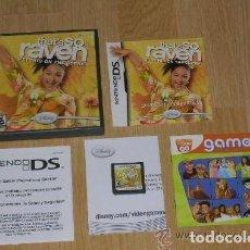Videojuegos y Consolas: JUEGO NINTENDO DS THAT'S SO RAVEN. Lote 132617206