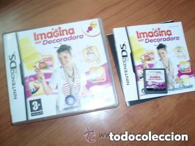 JUEGO NINTENDO DS IMAGINA SER DECORADORA (Juguetes - Videojuegos y Consolas - Nintendo - DS)
