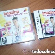 Videojuegos y Consolas: JUEGO NINTENDO DS IMAGINA SER DECORADORA. Lote 132962342