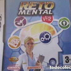Videojuegos y Consolas: JUEGO NINTENDO DS RETO MENTAL. Lote 191331885