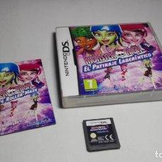 Videojuegos y Consolas: MONSTER HIGH - EL PATINAJE LABERINTICO ( NINTENDO DS -3DS ). Lote 133212398