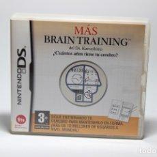 Videojuegos y Consolas: MAS BRAIN TRAINING NDS. Lote 104463055