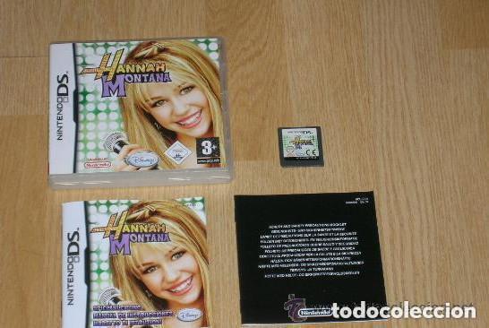 JUEGO NINTENDO DS HANNAH MONTANA (Juguetes - Videojuegos y Consolas - Nintendo - DS)