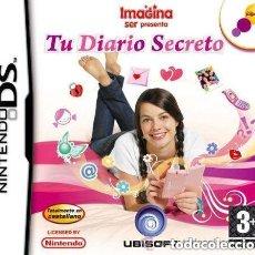 Videojuegos y Consolas: JUEGO NINTENDO DS IMAGINA SER PRESENTA TU DIARIO SECRETO. Lote 134148950