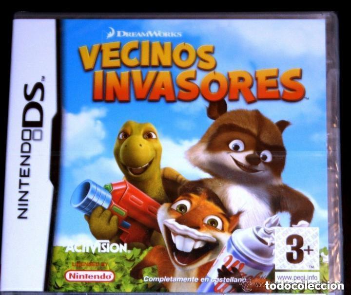 JUEGO NINTENDO DS VECINOS INVASORES (Juguetes - Videojuegos y Consolas - Nintendo - DS)