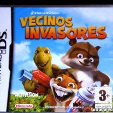 Videojuegos y Consolas: JUEGO NINTENDO DS VECINOS INVASORES. Lote 134149118