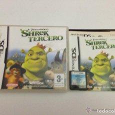 Videojuegos y Consolas: JUEGO NINTENDO DS SHREK TERCERO. Lote 134454474