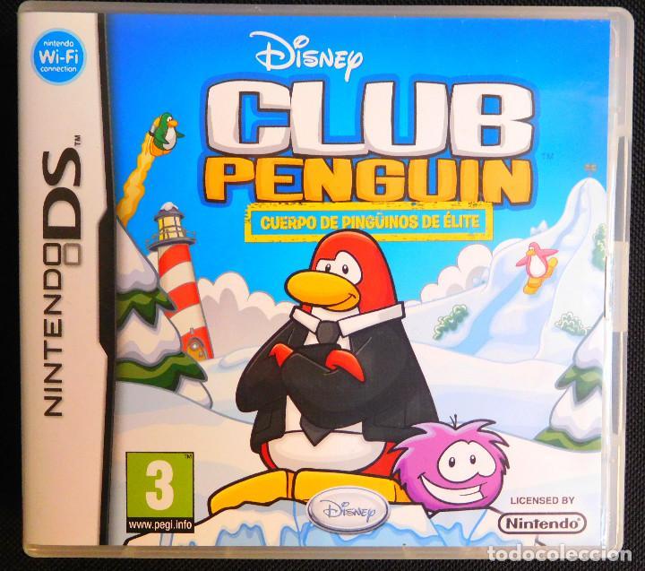 JUEGO ORIGINAL NINTENDO DS - CLUB PENGUIN - CUERPO DE PINGÜINOS DE ÉLITE (Juguetes - Videojuegos y Consolas - Nintendo - DS)