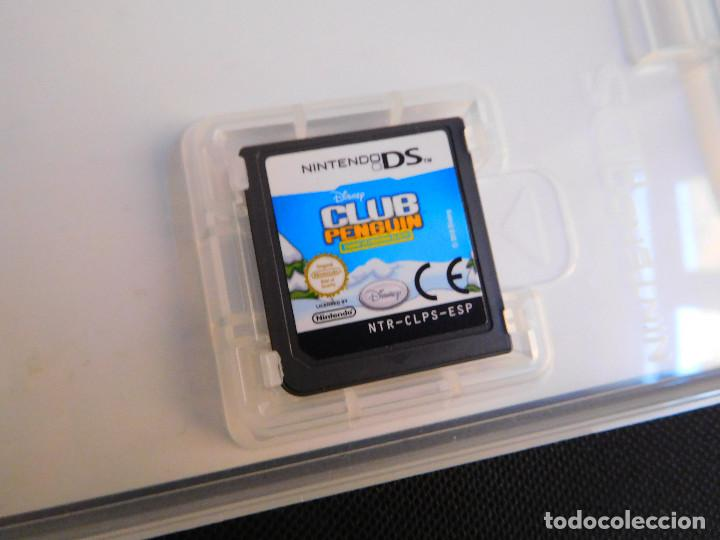 Videojuegos y Consolas: JUEGO ORIGINAL NINTENDO DS - CLUB PENGUIN - CUERPO DE PINGÜINOS DE ÉLITE - Foto 3 - 135391558