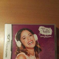 Videojuegos y Consolas: VIOLETTA RITMO & MUSICA.NINTENDO DS. Lote 135429934